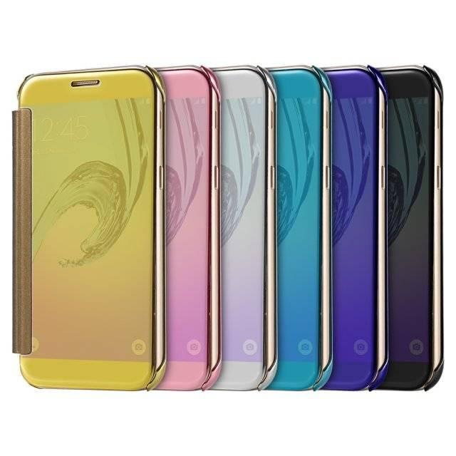 Transparent Soft Acrylic Flip Case For Samsung