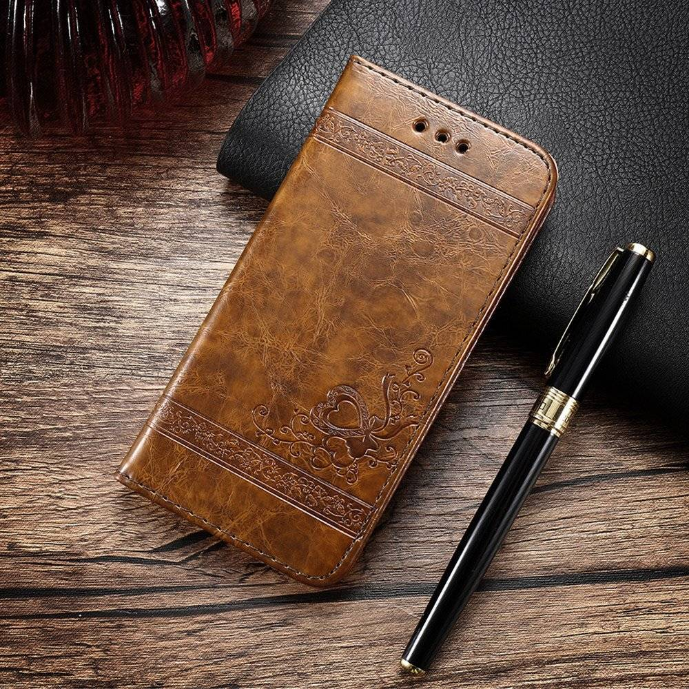 PU Leather Flip Case for iPhone