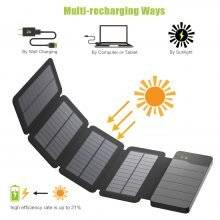 Waterproof Solar Charger Power Bank 10000 mAh