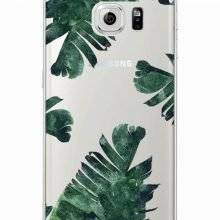 Vintage Floral Print Soft TPU Phone Cases For Samsung