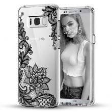 Samsung Galaxy Cases with Mandala Flower Designs