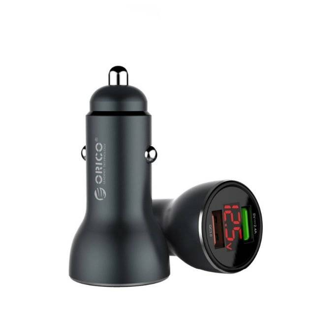30W Quick Charge 3.0 USB Car Charger