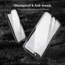 Shockproof Tempered Glass Phone Case for iPhone
