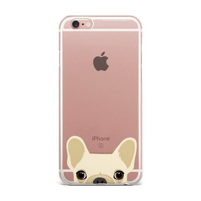 Cute Dog Soft Phone Phone Cases for iPhone