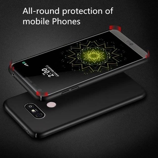 Matte Full Protection Slim Back Cover for LG