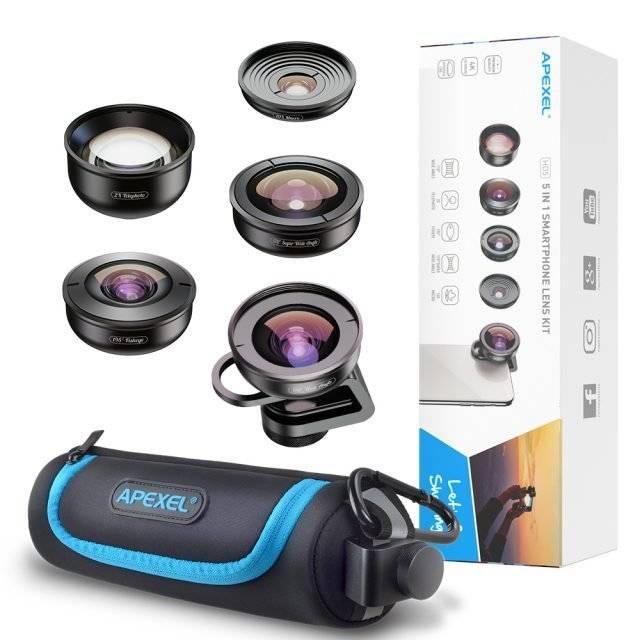5 in 1 Universal Phone Camera Lens Kit