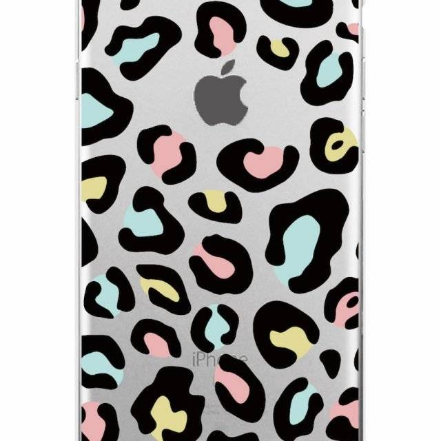 Leopard Print Soft Phone Case for iPhone, Samsung
