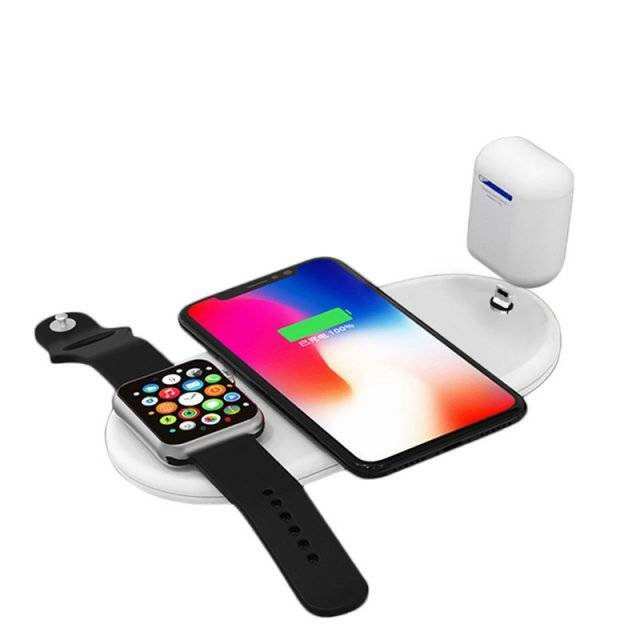 Wireless Phone / Watches / Air Pods Charger 3 in 1