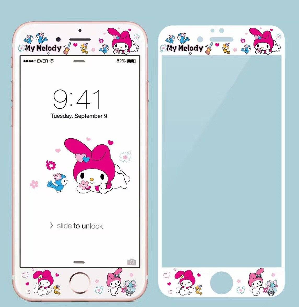 Lovely Cartoon Styled Screen Protector for iPhone