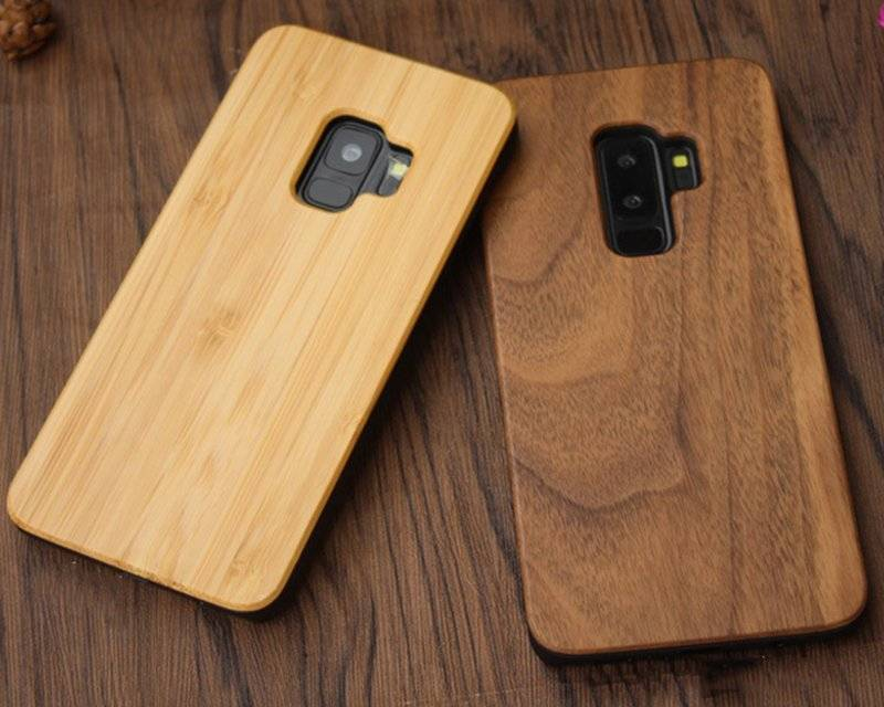 Phone Cases with Wood Texture Print for Samsung Galaxy