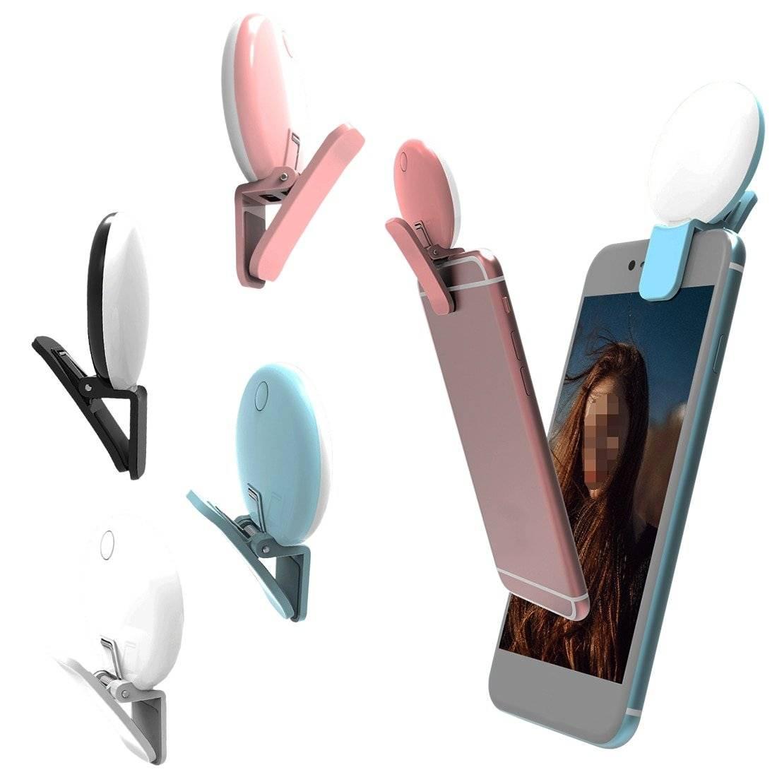 Mini Selfie Light for Smartphone