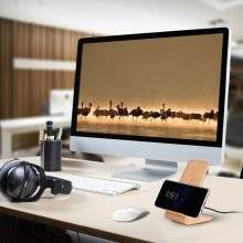 Fast Wireless Wooden Charger