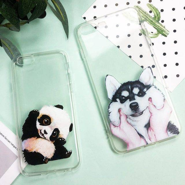 Cute Unicorn Printed Soft Silicone iPhone Case