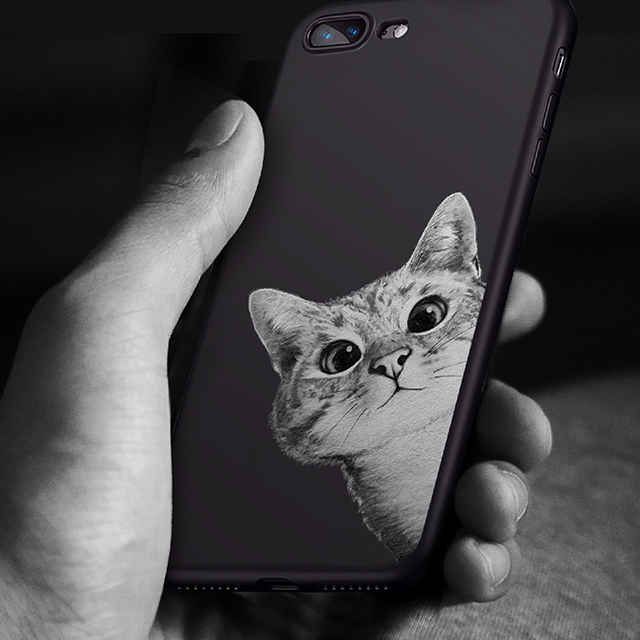 Cat Printed Case for iPhone