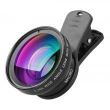 Universal Wide Angle and Macro Phone Camera Lens Kit