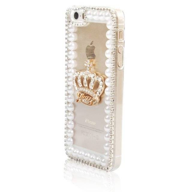 Luxury Jeweled Crown Phone Case for iPhone