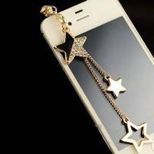 Star Pendant Dust Plugs For iPhone