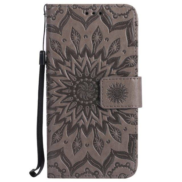 Patterned Flip Leather Case for Samsung Galaxy J3