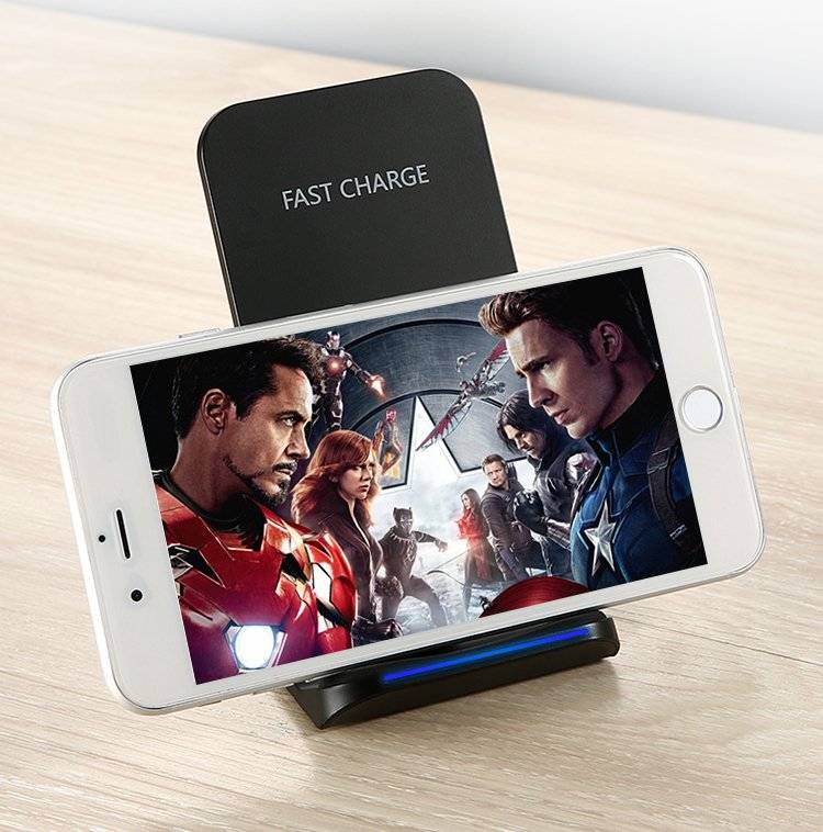 10W Wireless Charger for Samsung and iPhone