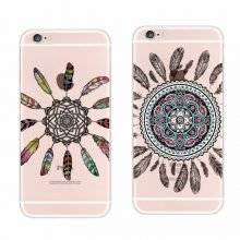 Tribal Mandala Animal Soft Phone Case for iPhone