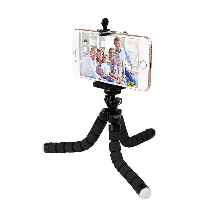 Universal Phone Tripod with Flexible Legs