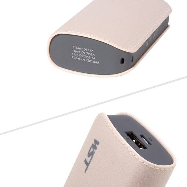 Handy Portable External Mini Power Bank