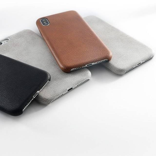 Leather Pattern Phone Case for iPhone