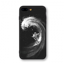 Space Patterned Soft Phone Case For iPhone