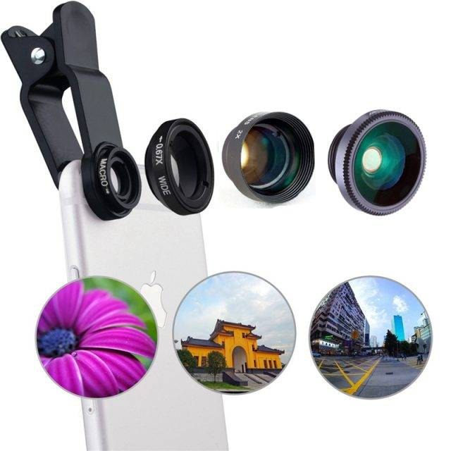 Amazing Universal Phone Photography Accessories 4 in 1
