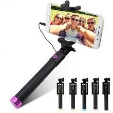 Extendable Wired Smartphone Selfie Stick