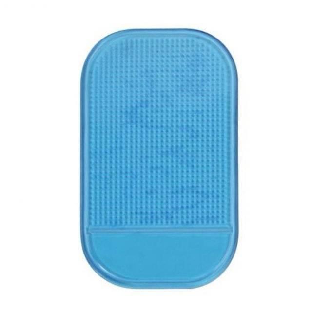 Colorful Anti Slip Car Phone Mat Color : Blue