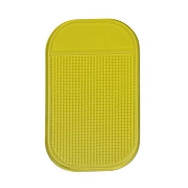 Colorful Anti Slip Car Phone Mat Color : Yellow
