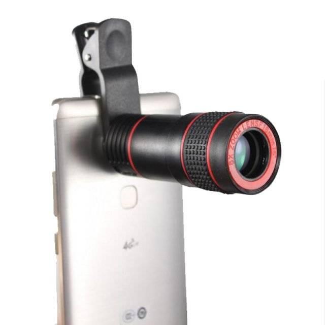 Universal 8X Optical Zoom Lens