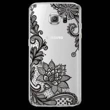Floral Lace Patterned Soft Case for Samsung Galaxy