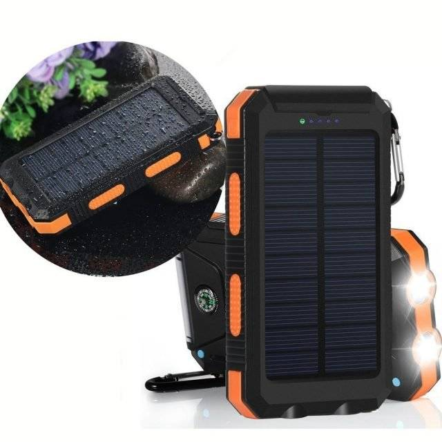 Portable Solar Power Banks 20000 mah