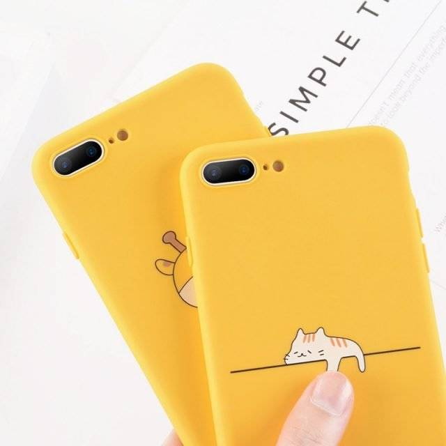 Kawaii Printed Phone Case for iPhone