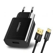 Compact Travel USB Wall Charger