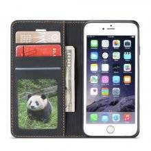 Magnetic Leather Wallet Case for iPhone