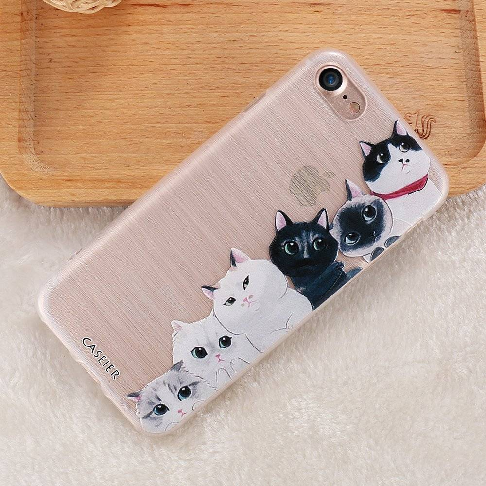 Cat Soft Phone Case for iPhone