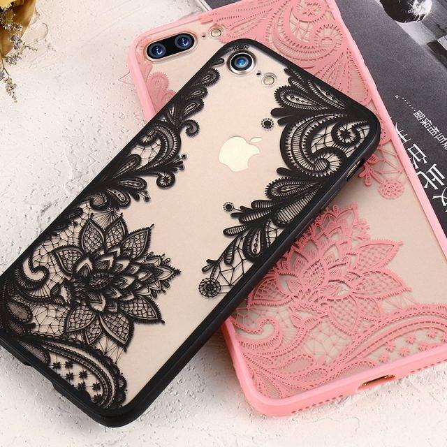 Mehendi Flowers Phone Cases for iPhone