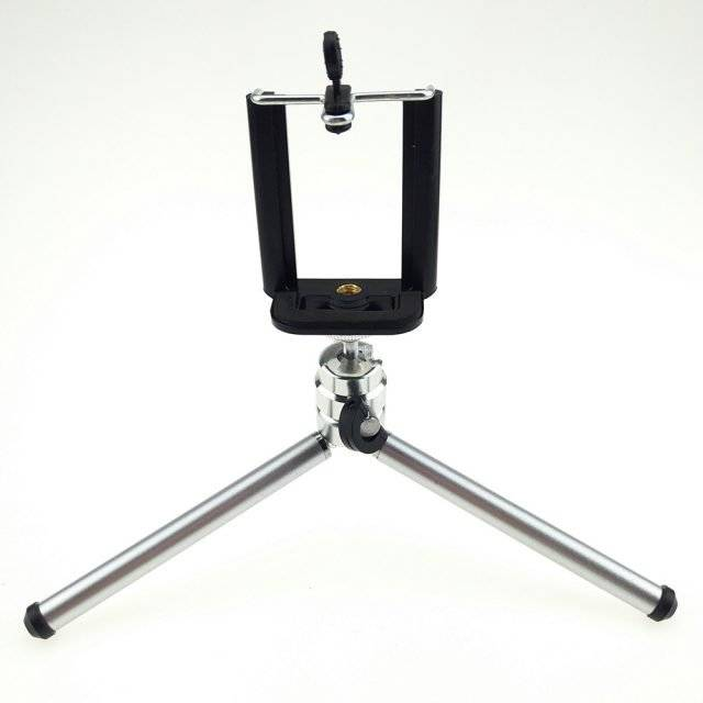 Mini Portable Tripod with Phone Holder for Mobile Phone