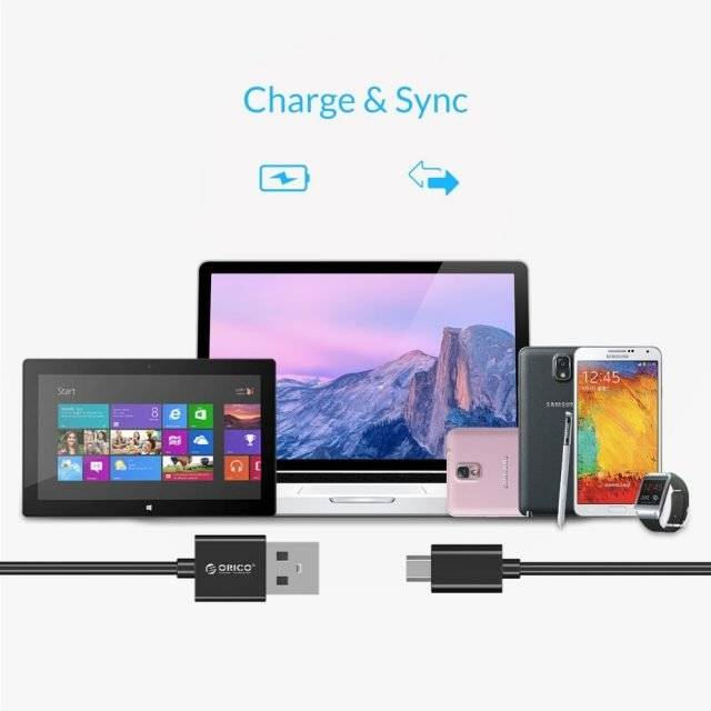 Micro USB 2.0 Charging Cable 5 pcs Set