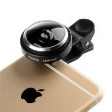 Universal Fish Eye 235 Degree Clip Lens