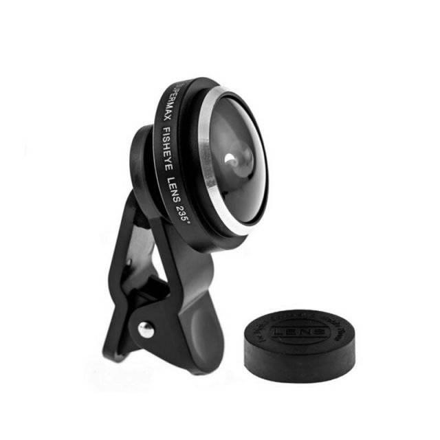 Universal Fish Eye 235 Degree Clip Lens