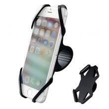 Adjustable Bicycle Rack Silica Gel Phone Holder