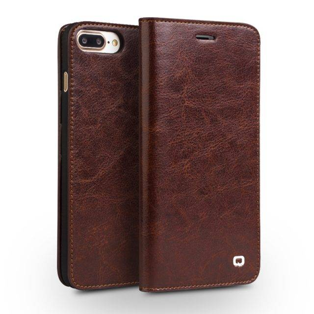 Classic Protective Leather Flip Phone Case for iPhone