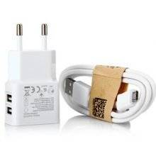 Multifunctional Universal Plastic Dual USB Phone Charger