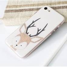 Nordic Style Cartoon Animals Printed Case for iPhone