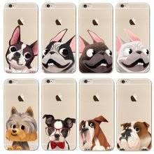 Cute French Bulldog Soft Phone Case for iPhone