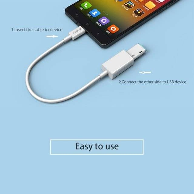 Type C to Type A Charging Cable